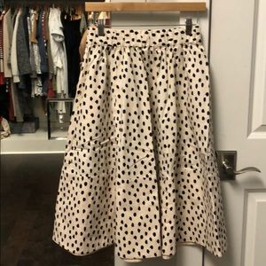 Kate Spade spotted skirt